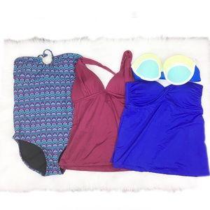 Other - 4-Piece Bikini + Tankini Lot - E59PO